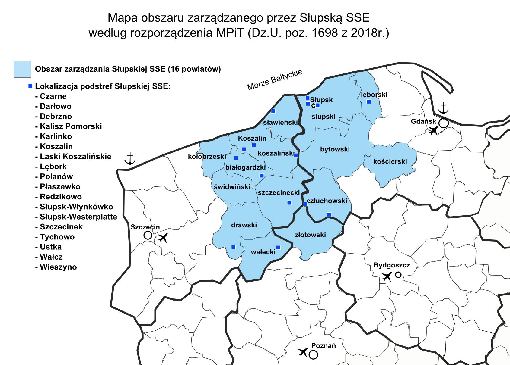 2018.09.04 Strefy wpływow i tereny inwestycyjne w SSSE